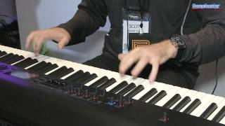 roland rd 800 88 key stage piano demo sweetwater at winter namm 2014