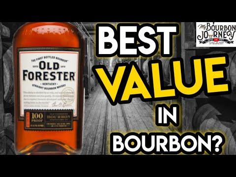 Old Forester Kentucky Straight Bourbon Whiskey / My Bourbon Journey