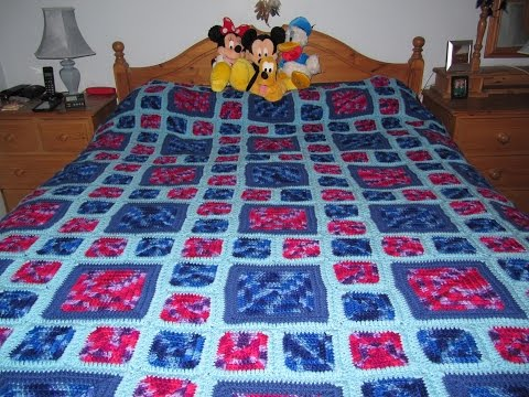 How To Make A Crochet Afghan/blanket