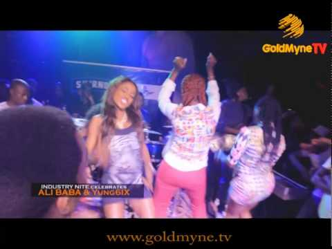 Download GOLDMYNETV:  INDUSTRY NITE CELEBRATES ALI BABA & YUNG6IX