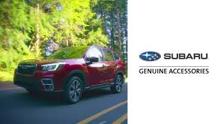 homepage tile video photo for 2021 Forester Accessory Highlights