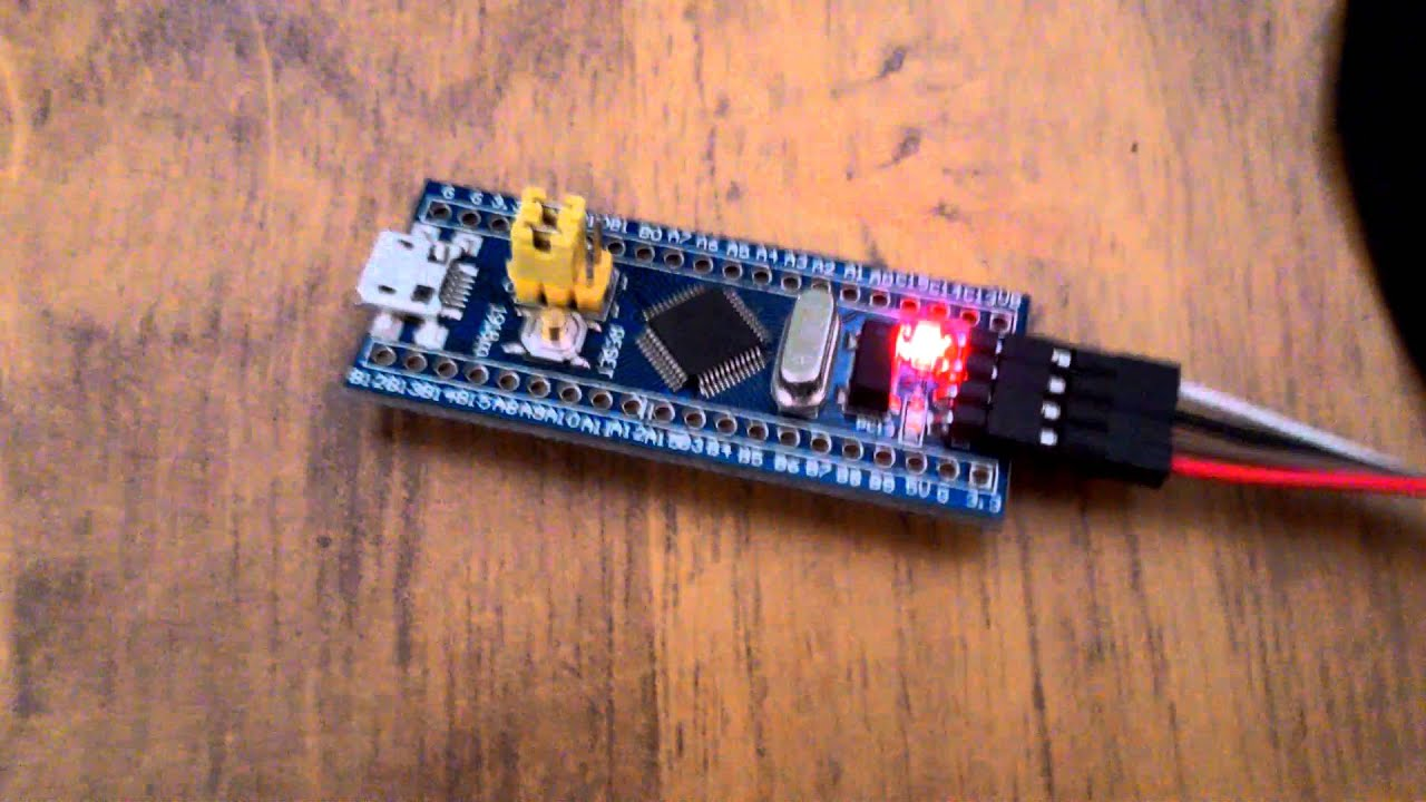 Programming Generic STM32 board via Arduino IDE and ST-Link V2