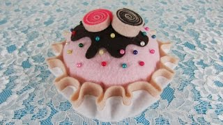 DIY - Cupcake pin cushion