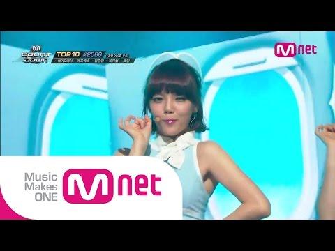 Mnet [엠카운트다운] Ep.385 : AOA - 단발머리(Short Hair) @MCOUNTDOWN_140717