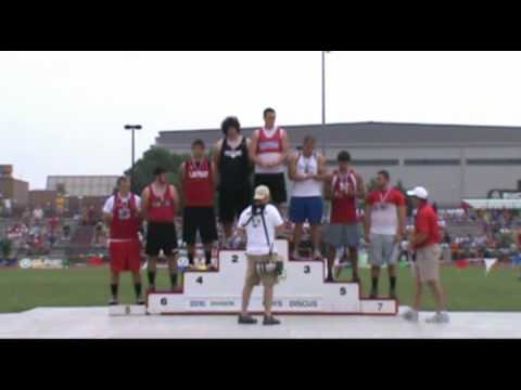 Justin Welch 3 time State Disc Champ
