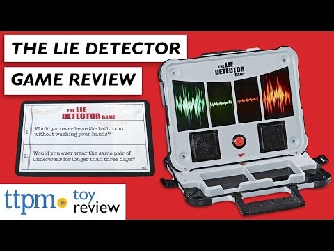 TTPM Reviews The Lie Detector Game From Hasbro | It's The Game For The Best Liars