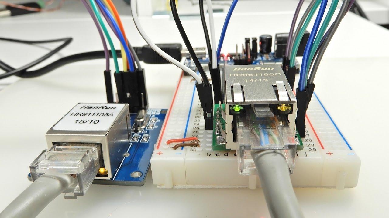 Ethernet для МК  W5500 и ENC28J60  MQTT