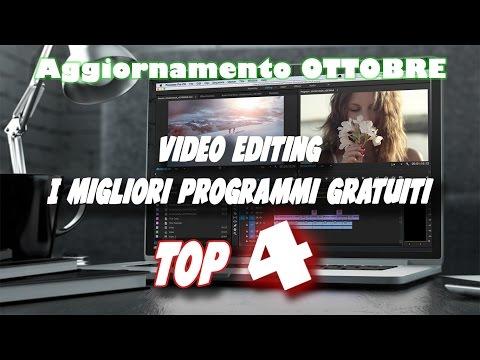 I migliori 4 programmi di Video Editing GRATUITI !!! ||Agg. OTTOBRE|| ArmaDisk ITA