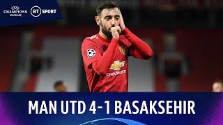 Manchester United v İstanbul Başakşehir (4-1) | Champions League Highlights