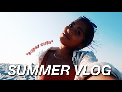 SUMMER VLOG: perfect summer day + packing for Texas! thumbnail