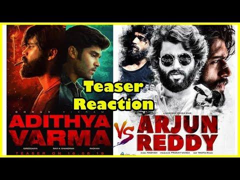 Adithya Varma  Vs Arjun Reddy|Teaser Reaction | Dhruv Vikram