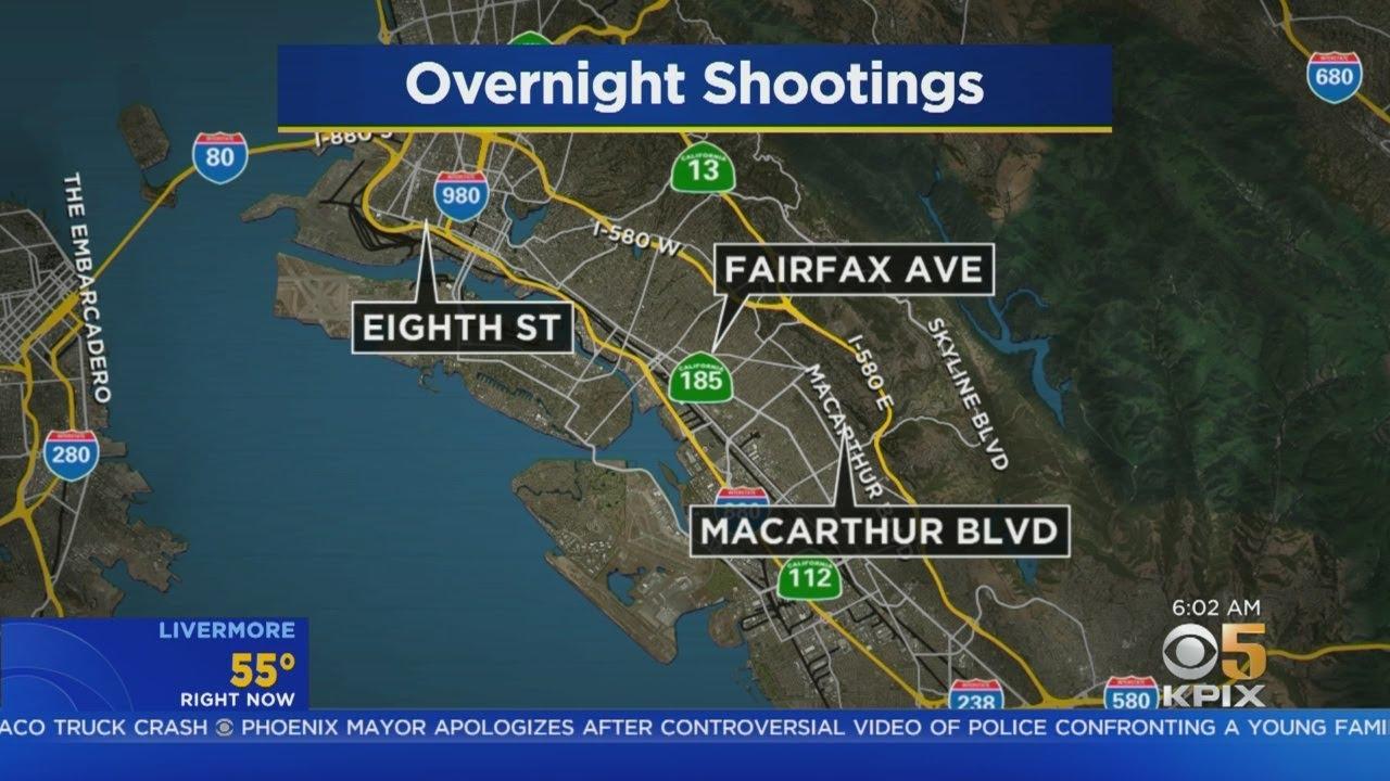 Oakland Shootings Leave 2 Injured