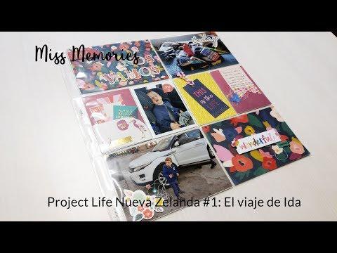 Project Life NZ #1 Viaje de ida
