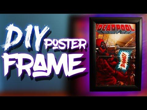 CHEAP DIY Poster Frame
