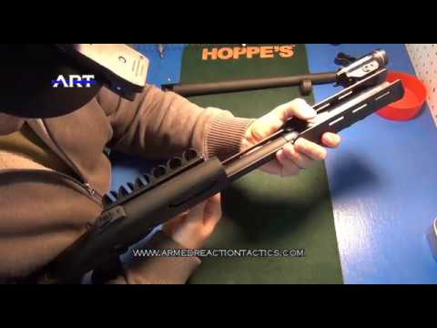 How to clean Remington 870