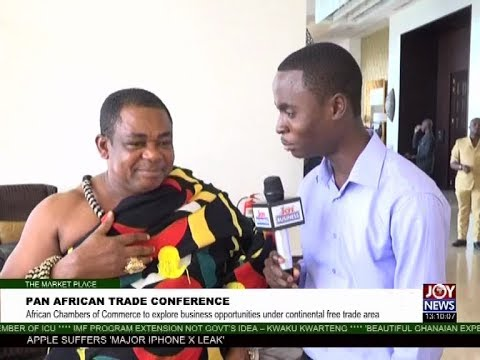 Pan African Trade Conference - The Market Place on Joy News (12-9-17)