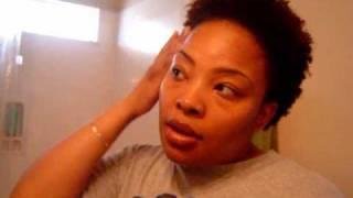 ~18~ Refreshing my  Wash and Go 4b 4c Natural Hair Thumbnail