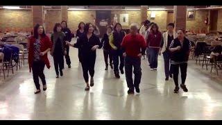 Manhattan Shuffle Line Dance