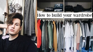 HOW TO BUILD YOUR WARDROBE ON A BUDGET || WARDROBE TOUR