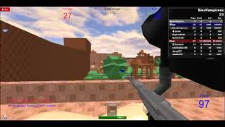 Roblox - Paintball - Hacker Party