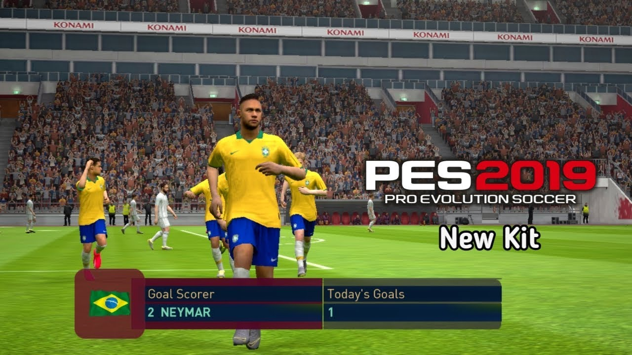 PES 2019 Mobile Patch V3 3 0 New Kits Update Android Best Graphics by M PRO  GAMING
