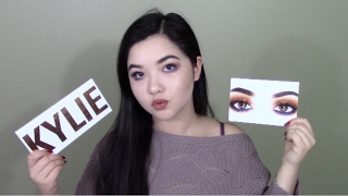 THE ROYAL PEACH PALETTE BY KYLIE COSMETICS - HONEST REVIEW + GRWM