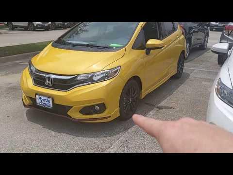 2019 Honda Fit Sport quick review