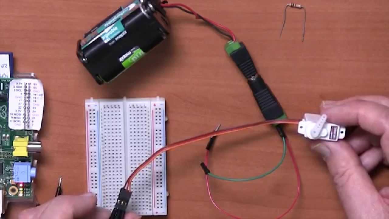 Controlling Servo Motors With Raspberry Pi Youtube Motor Control Circuit