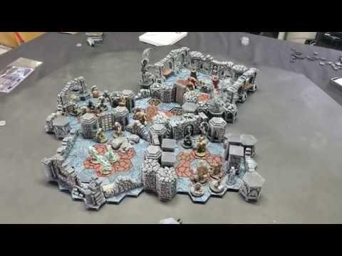 3D Gloomhaven Board: Scenario 19 - Forgotten Crypt |