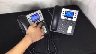 Grandstream GXP 2130 basic usage tutorial Episode 001
