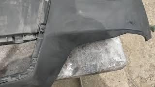 Причина отслоения краски с китайских бамперов