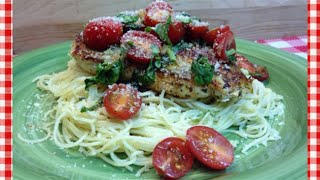 Fast & Fresh Bruschetta Chicken Recipe ~ Noreen's Kitchen