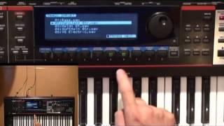 Hướng dẫn làm Sequencer trên Roland Juno-Gi