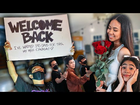After Waiting For So Long, She's Finally Back! (Dance Surprise!) | Ranz and Niana
