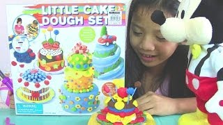 Little Cake Dough Set - Make Lollipop Flower And Cake Play Dough