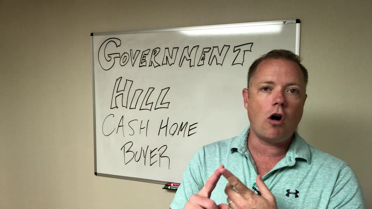 Government Hill Cash Home Buyer 210-899-5020