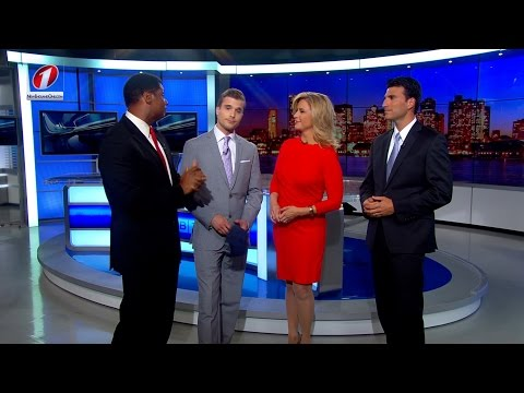 WBZ Welcomes Liam Martin to Anchor Desk - 6/3/2015 HD