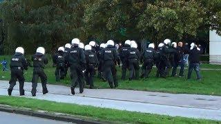 Polizeieinsatz beim Revierderby Borussia Dortmund -FC Schalke 04