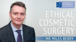 Mr Miles Berry FRCS London Based Cosmetic Surgeon