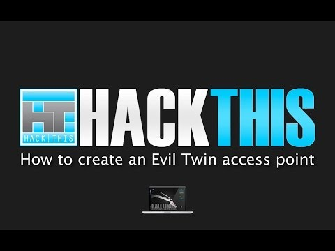 How To Create An Evil Twin Access Point (with WPA/ WPA2 Capt