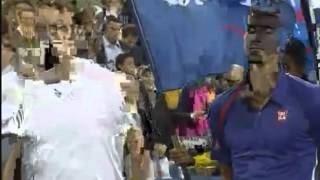 Andy Murray Winning Ceremony US Open 2012 Final