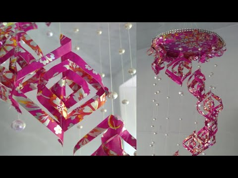 Gift wrap room decor | DIY room decor idea |82|