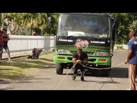 Grenada Amateur Strongest Man Competition 2013