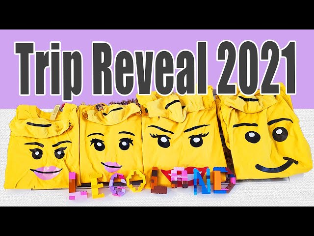 TRIP REVEAL 2021 | LEGOLAND FLORIDA | First Visit | Family Trip | Legoland Resort  Orlando Florida