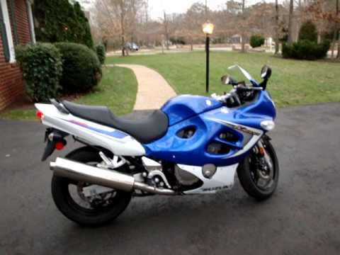 2006 suzuki gsx 600 f katana youtube. Black Bedroom Furniture Sets. Home Design Ideas