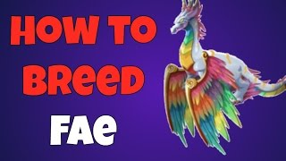 War Dragons - How To Breed Fae and review