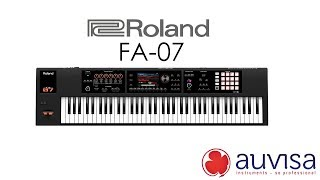 Review Roland FA07 Auvisa