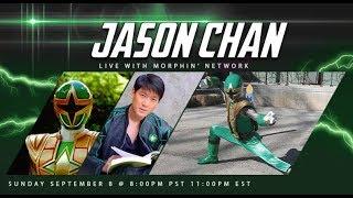 Interview With Jason Chan (Green Samurai Ranger from Ninja Storm) YouTube Videos
