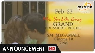 Miss You Like Crazy trailer (Grand opening on February 24, 2010)