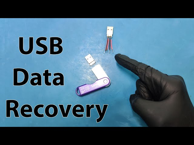 How to Fix a Dead USB Flash Drive for Data Recovery